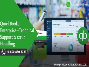 QuickBooks Enterprise Technical Support and Error Handling