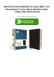NIV Stewardship Study Bible - Stewardship Council