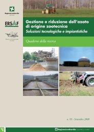 Gestione e riduzione dell'azoto di origine zootecnica - Ersaf