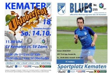 Blues News 255: FC Volders