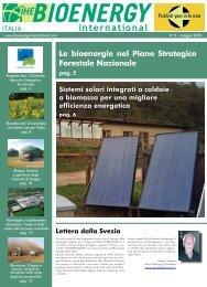 Le bioenergie nel Piano Strategico Forestale Nazionale - Novator