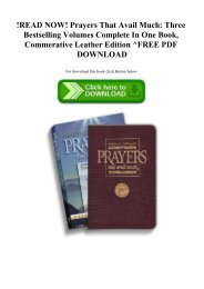 !READ NOW! Prayers That Avail Much Three Bestselling Volumes Complete In One Book  Commerative Leather Edition ^FREE PDF DOWNLOAD