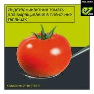 Индетерминантные томаты для выращивания в пленочных теплицах  2018 | 2019