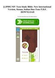 NIV Stewardship Study Bible - Stewardship Council