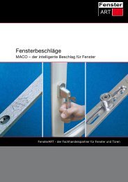 Download PDF - FensterART GmbH & Co KG