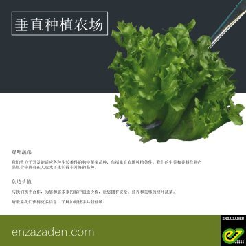 Leaflet Vertical Farming 2018 Chinese version