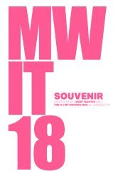 Most Wanted and The It List Souvenir Guide2018
