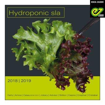 Brochure Hydroponic 2018 | 2019 Dutch version