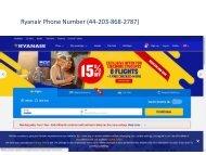 IS #Ryanair phone number 44-203-868-2787 customer service ?