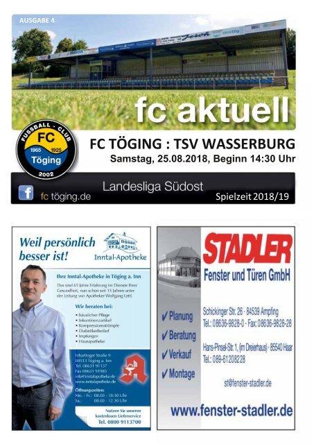 """""""fc aktuell"""" Saison 2018-19 Ausgabe 4"""