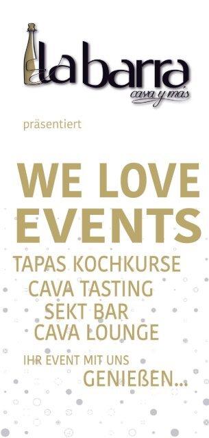 La Barra - WE LOVE EVENTS