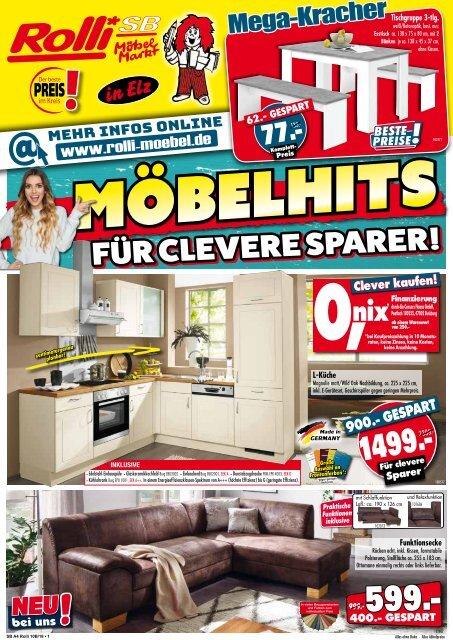 bbaf98ac77bade Möbelhits für clevere Sparer  ROLLI SB-Möbelmarkt in Elz bei Limburg