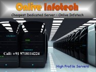 Cheapest Dedicated Server with Top Standard Security