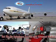 Sky Air Ambulance Service in Jaipur provides Highly Expert Doctor