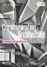 COMMUNICATING ARCHITECTURE Frankfurter Buchmesse 2018| Halle 4.1, Stand J75