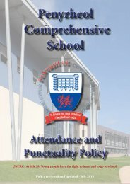 Attendance and Punctuality Policy