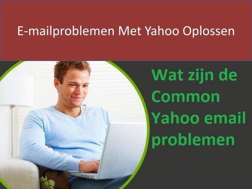 Hoe E-Mailproblemen Met Yahoo Op Te Lossen