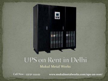 Ups-on-Rent-in-Delhi