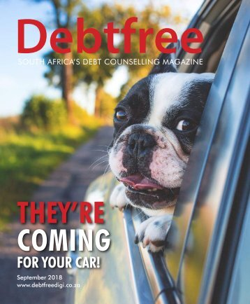 Debtfree Magazine September 2018