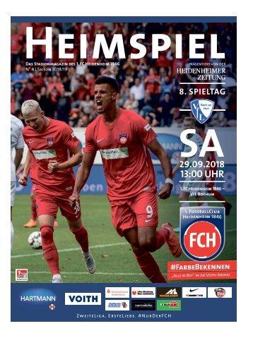 Heimspiel Nr.4 Saison 2018/2019