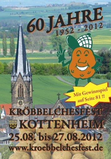 Festzeitschrift - Kröbbelchesfest Kottenheim