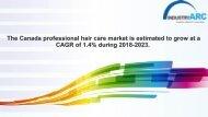 Canada Professional Hair Care Market