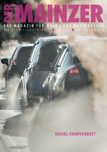 DER MAINZER - Das Magazin für Mainz und Rheinhessen - Nr. 337
