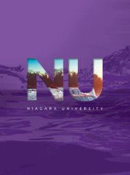 Niagara University Senior Viewbook 2018-2019