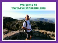 Table Mountain Tours in Cape Town