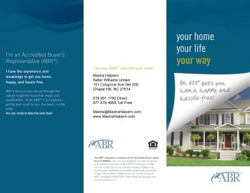 Find Your Home - Accredited Buyer's Representative