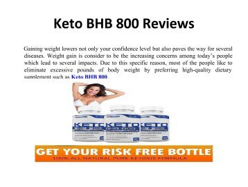 Keto BHB 800? It's Easy If You Do It Smart