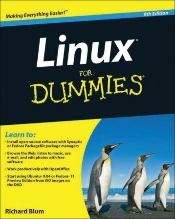 Linux Dummies 9th