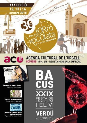 Agenda Octubre-18