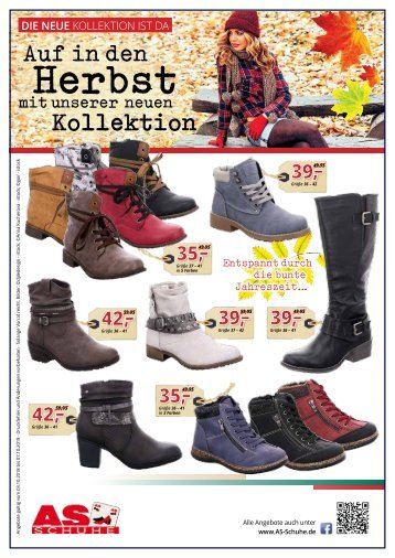AS-Schuhe Herbstkollektion - 03.10.2018