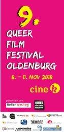 Queer Film Festival Oldenburg 2018 Cin k Programmheft