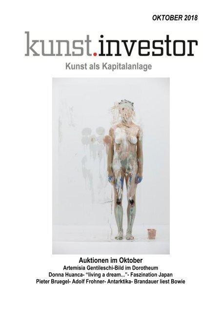 KUNSTINVESTOR AUSGABE OKTOBER 2018