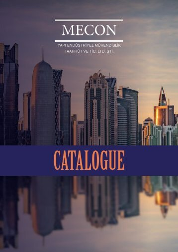 MECON_Catalogue 2018