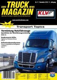 Euro Truck News Digital Nr. 11/2018