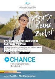 CHANCE Katalog 2018