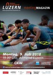 Spitzen Leichtathletik Luzern 2018