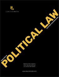 LEXSCHEMATA (Pointers in Political Law 2018)