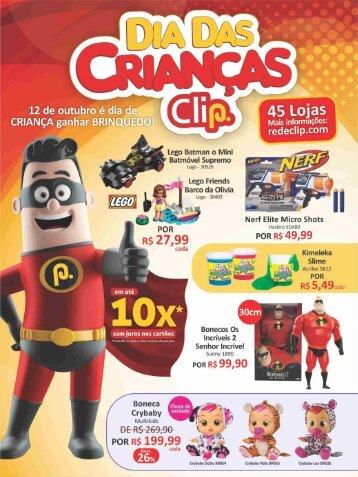 Folder dia das crianças clip 2018