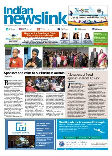Indian Newslink October 1 2018 Digital Edition