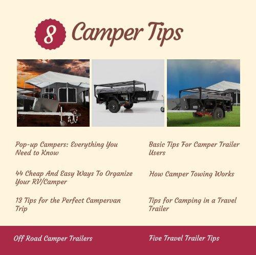 8 Camper Tips