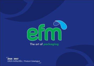 EFM PACK cataloge