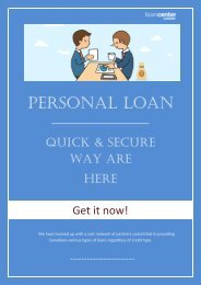 Easy and Quick Way to get  Personal Loan in Canada-converted