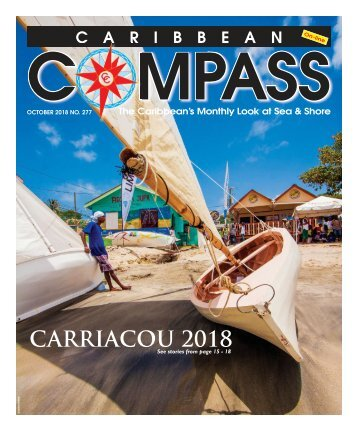 Caribbean Compass Yachting Magazine - October 2018