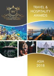 Travel & Hospitality Awards | Asia 2018 | www.thawards.com