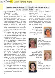 Gemeindebriefseiten MNK Oktober 2018