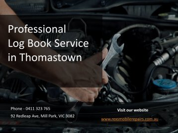 Log Book Service Thomastown - Rex's Mobile Mechanical Repairs-converted